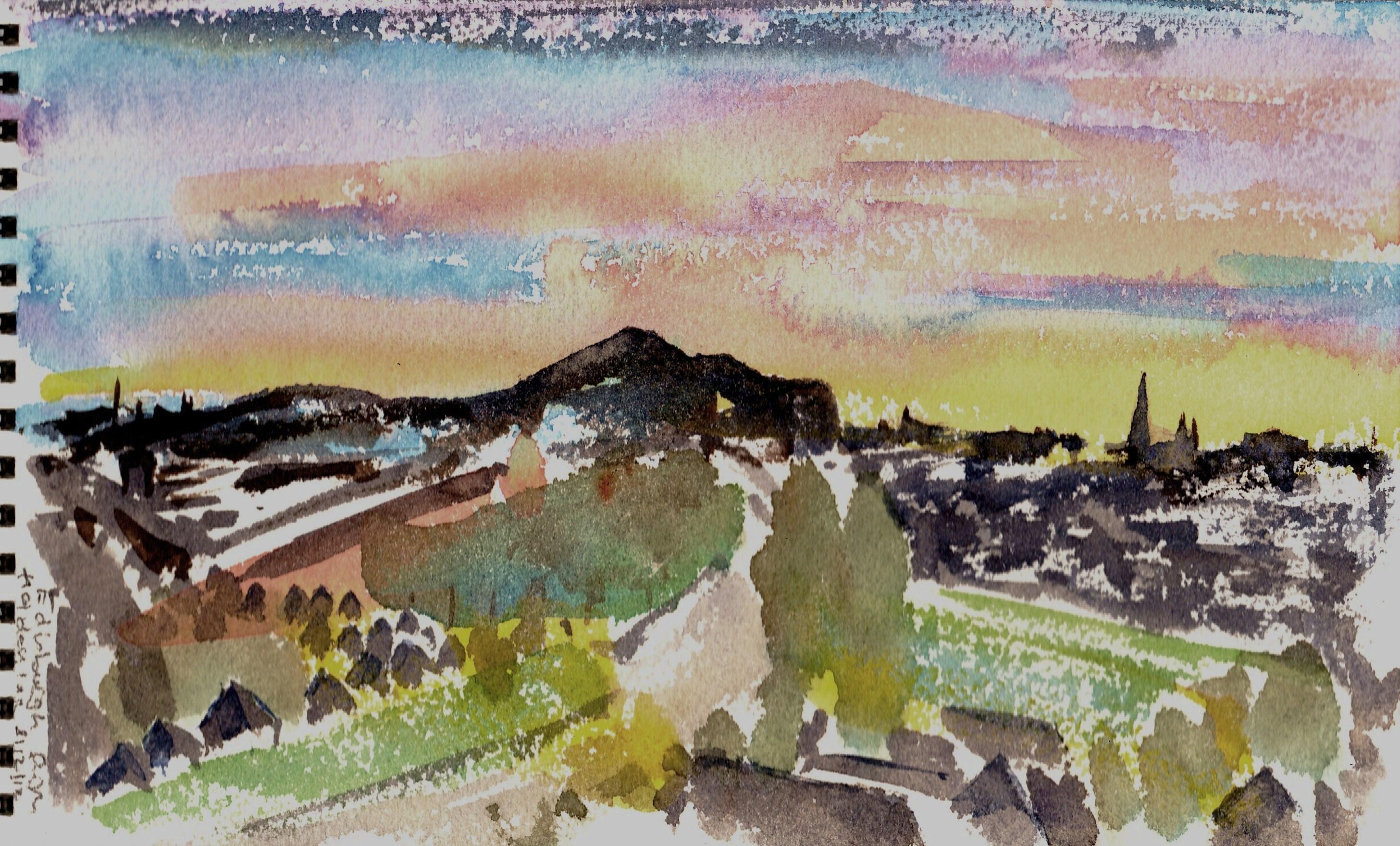 Edinburgh from Holiday Inn (5)