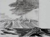 Landscape with gun